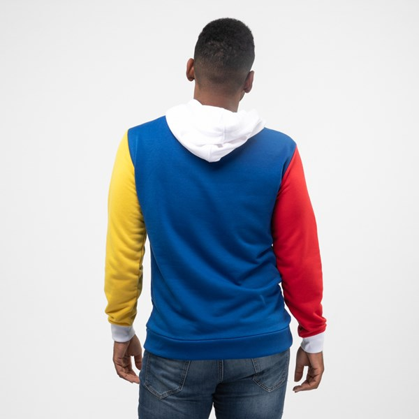 alternate view Mens Color-Block HoodieALT1