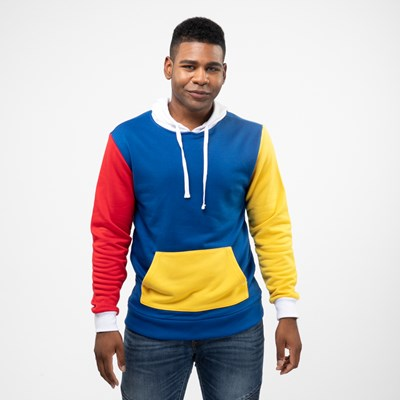 Main view of Mens Color-Block Hoodie