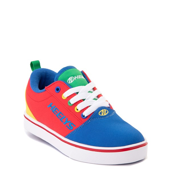 alternate view Heelys Gr8 Pro Color-Block Skate Shoe - LIttle Kid / Big Kid - MultiALT1