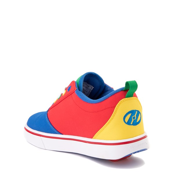 alternate view Heelys Gr8 Pro Color-Block Skate Shoe - LIttle Kid / Big Kid - MultiALT2