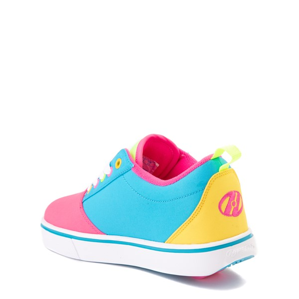 alternate view Heelys Gr8 Pro Color-Block Skate Shoe - LIttle Kid / Big Kid - Pink / MultiALT1