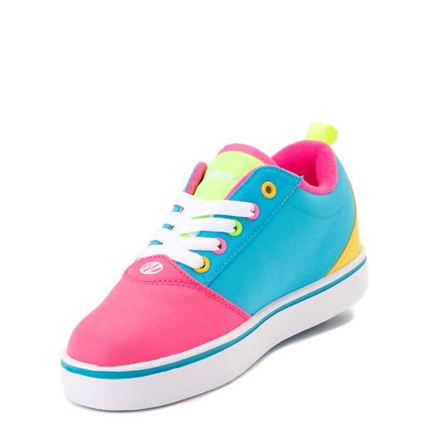 alternate view Heelys Gr8 Pro Color-Block Skate Shoe - LIttle Kid / Big Kid - Pink / MultiALT2
