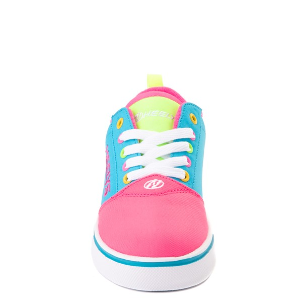 alternate view Heelys Gr8 Pro Color-Block Skate Shoe - LIttle Kid / Big Kid - Pink / MultiALT4