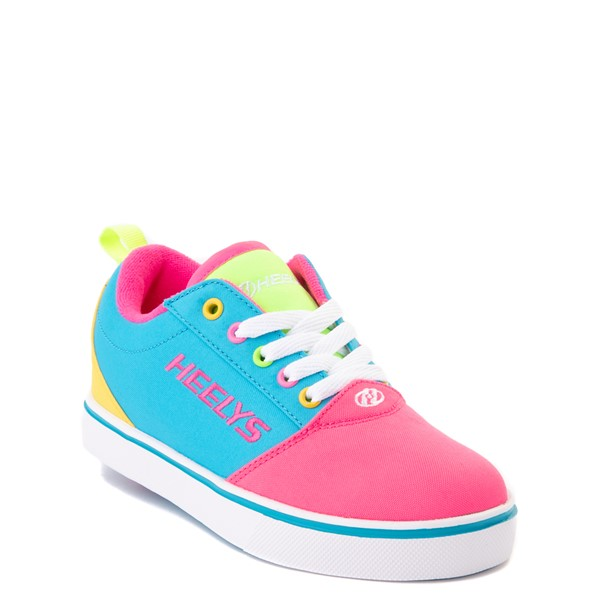 alternate view Heelys Gr8 Pro Color-Block Skate Shoe - LIttle Kid / Big Kid - Pink / MultiALT5