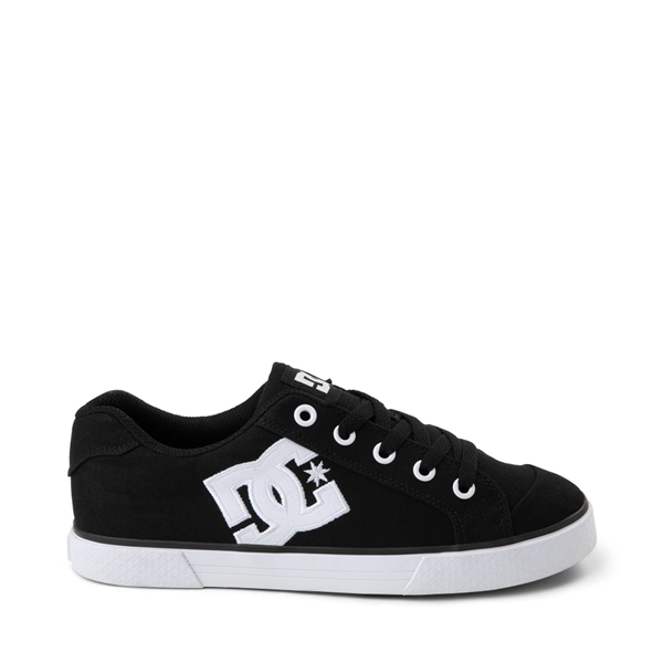 Womens DC Chelsea TX Skate Shoe - Black / White