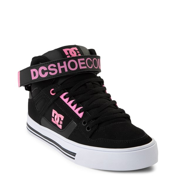 alternate view Womens DC Pure Hi V Skate ShoeALT1