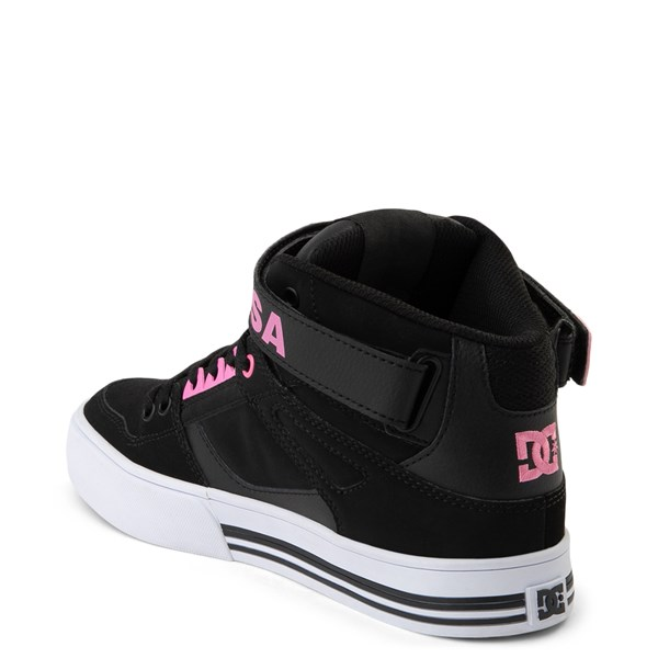 alternate view Womens DC Pure Hi V Skate ShoeALT2