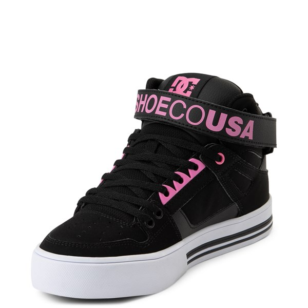 alternate view Womens DC Pure Hi V Skate ShoeALT3