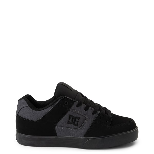 Mens DC Pure TX SE Skate Shoe - Gray / Black
