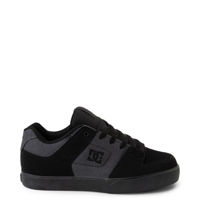 Main view of Mens DC Pure TX SE Skate Shoe - Gray / Black
