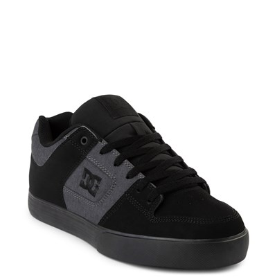Alternate view of Mens DC Pure TX SE Skate Shoe - Gray / Black