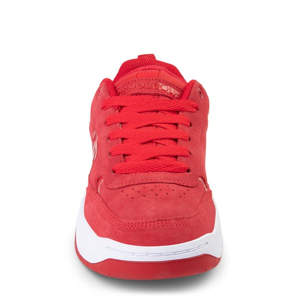 alternate view Mens DC Penza Skate Shoe - Red / WhiteALT4