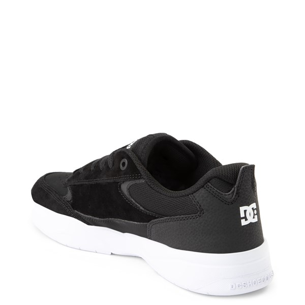 alternate view Mens DC Penza Skate Shoe - Black / WhiteALT2