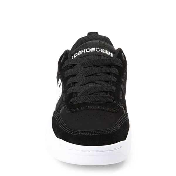 alternate view Mens DC Penza Skate Shoe - Black / WhiteALT4