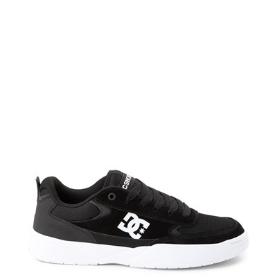 Main view of Mens DC Penza Skate Shoe - Black / White