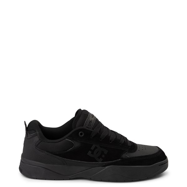 Main view of Mens DC Penza Skate Shoe - Black Monochrome