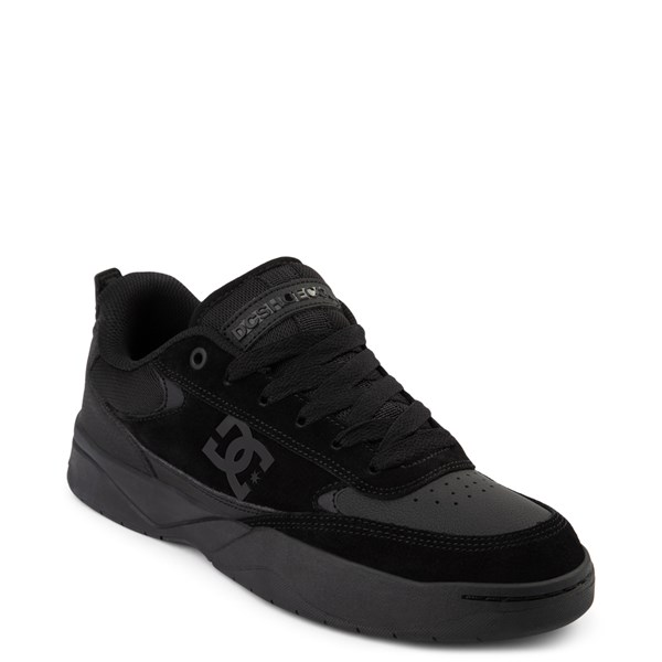 alternate view Mens DC Penza Skate Shoe - Black MonochromeALT1