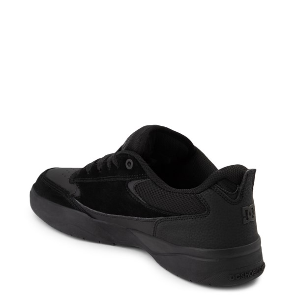 alternate view Mens DC Penza Skate Shoe - Black MonochromeALT2