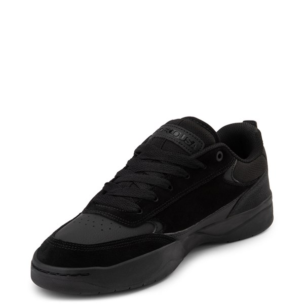 alternate view Mens DC Penza Skate Shoe - Black MonochromeALT3