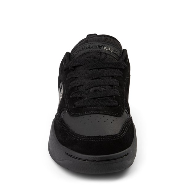 alternate view Mens DC Penza Skate Shoe - Black MonochromeALT4