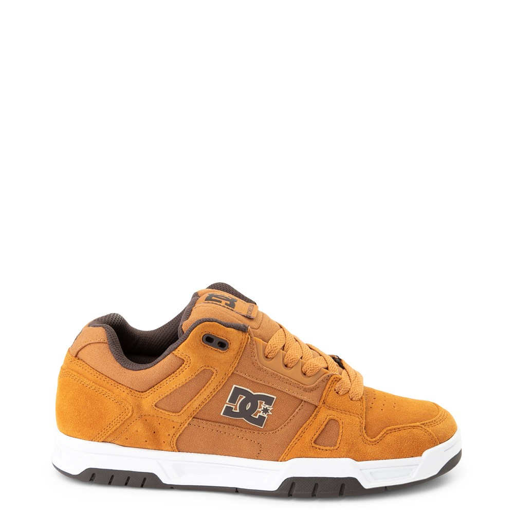 Mens DC Stag Skate Shoe - Wheat