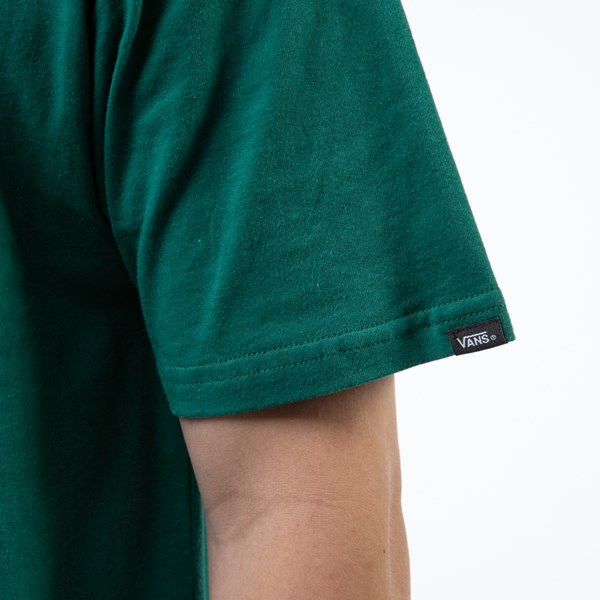 alternate view Mens Vans Classic Drop V Tee - EvergreenALT4