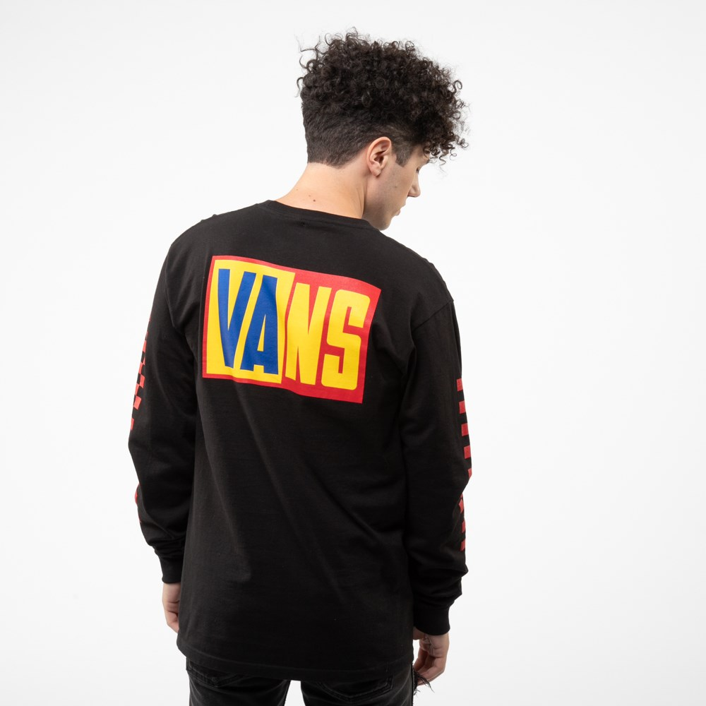 Mens Vans OTW Rally Color-Block Long Sleeve Tee