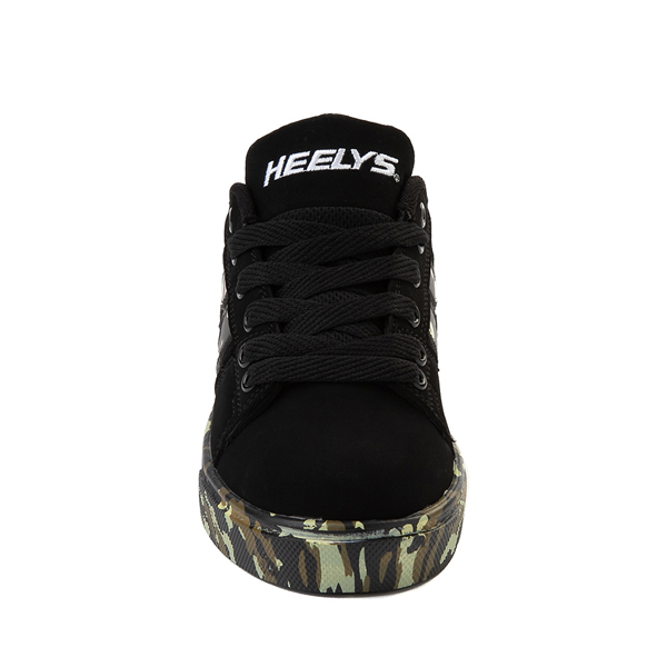 alternate view Heelys Racer Skate Shoe - Little Kid / Big Kid - Black / CamoALT4