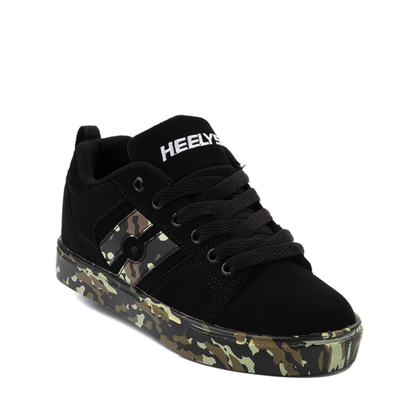 alternate view Heelys Racer Skate Shoe - Little Kid / Big Kid - Black / CamoALT5