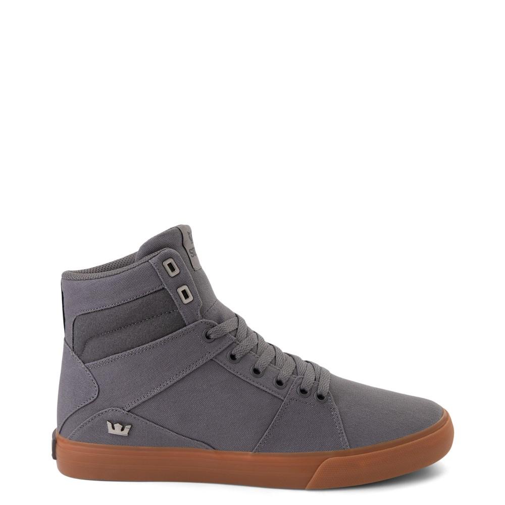 Mens Supra Aluminum Hi Skate Shoe
