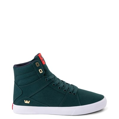 Main view of Mens Supra Aluminum Hi Skate Shoe