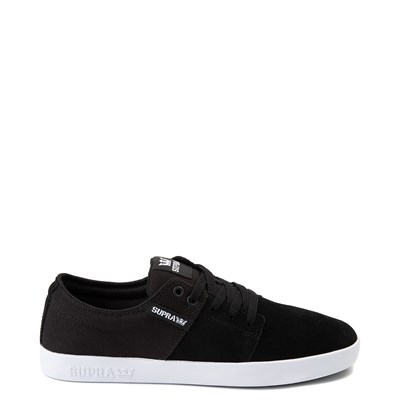 Main view of Mens Supra Stacks II Skate Shoe - Black / Gray