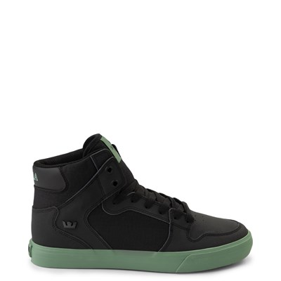 Main view of Mens Supra Vaider Hi Skate Shoe - Black / Hedge