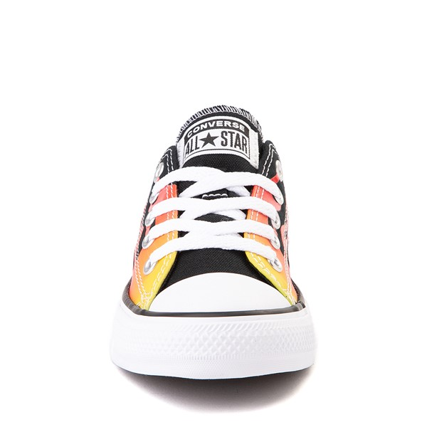 alternate view Converse Chuck Taylor All Star Lo Flames Sneaker - Little Kid - BlackALT4