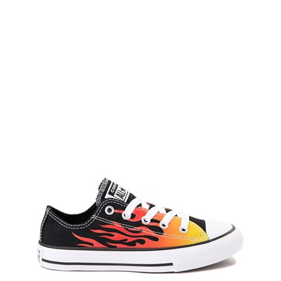Main view of Converse Chuck Taylor All Star Lo Flames Sneaker - Little Kid - Black