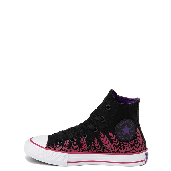 alternate view Converse x Frozen 2 Chuck Taylor All Star Hi Anna Sneaker - Little Kid / Big Kid - BlackALT1