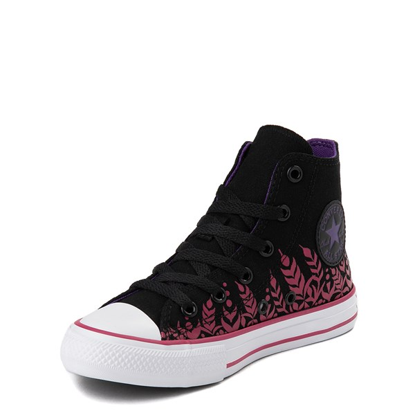 alternate view Converse x Frozen 2 Chuck Taylor All Star Hi Anna Sneaker - Little Kid / Big Kid - BlackALT3