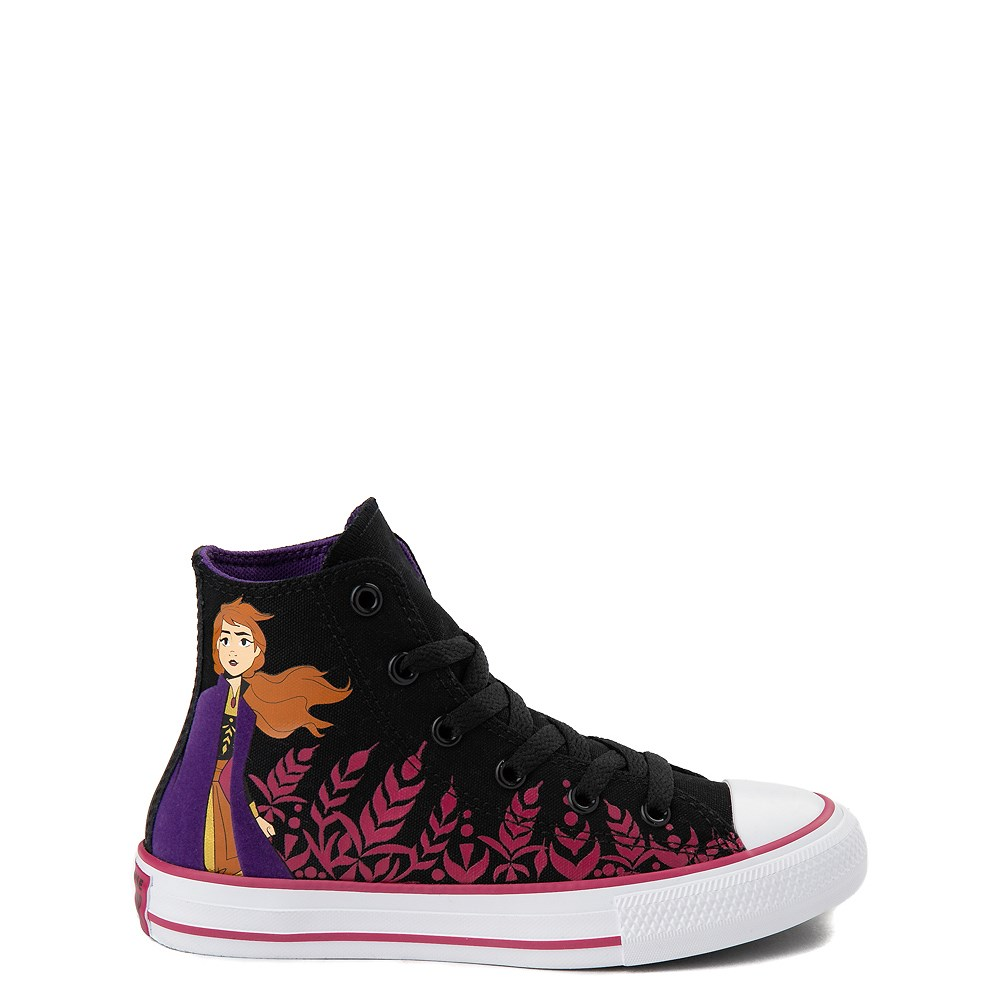Converse x Frozen 2 Chuck Taylor All Star Hi Anna Sneaker - Little Kid / Big Kid - Black