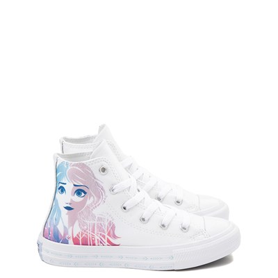 Main view of Converse x Frozen 2 Chuck Taylor All Star Hi Anna & Elsa Sneaker - Little Kid