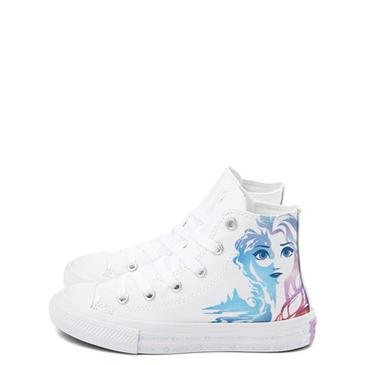 Alternate view of Converse x Frozen 2 Chuck Taylor All Star Hi Anna & Elsa Sneaker - Little Kid