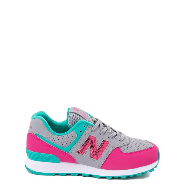 Default view of New Balance 574 Athletic Shoe - Little Kid