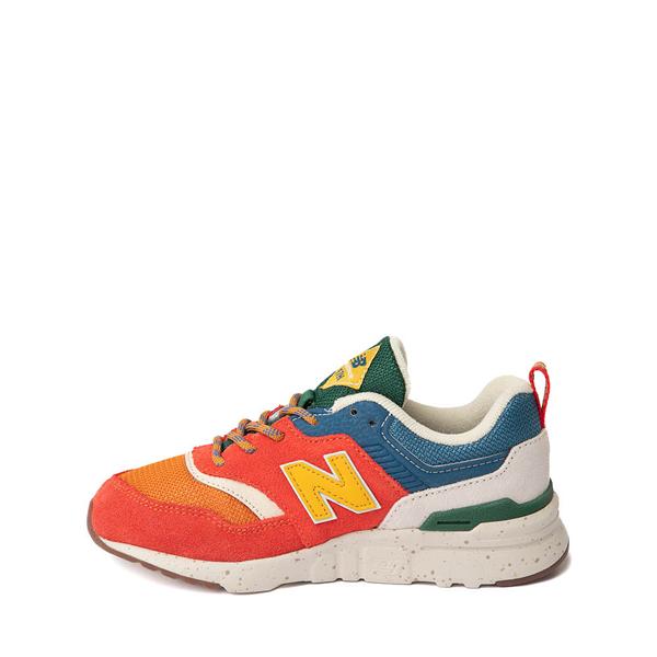 alternate view New Balance 997H Athletic Shoe - Little Kid - Vintage OrangeALT1