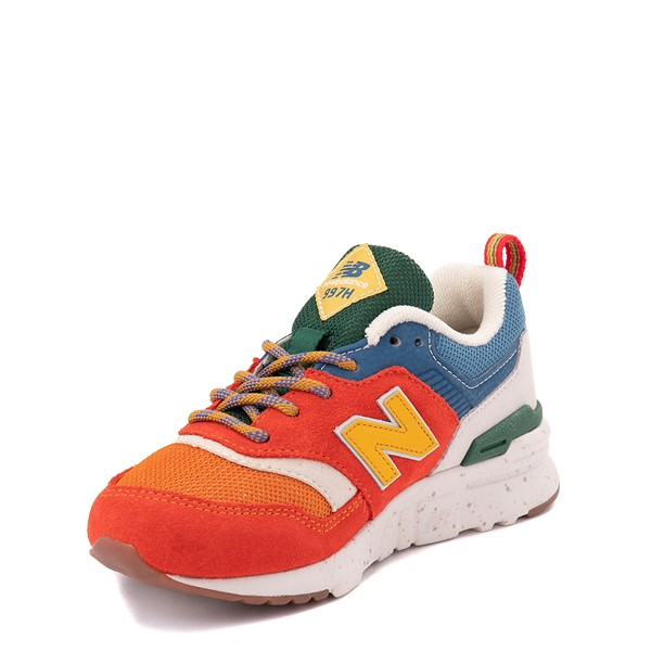 alternate view New Balance 997H Athletic Shoe - Little Kid - Vintage OrangeALT2