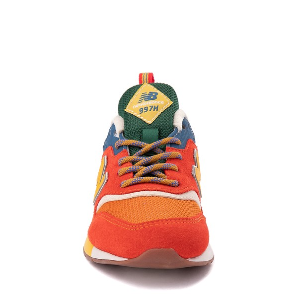 alternate view New Balance 997H Athletic Shoe - Little Kid - Vintage OrangeALT4
