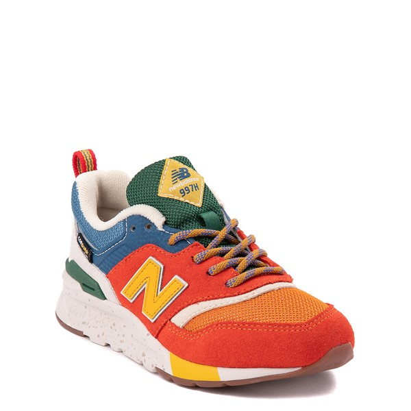 alternate view New Balance 997H Athletic Shoe - Little Kid - Vintage OrangeALT5