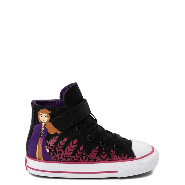 Main view of Converse x Frozen 2 Chuck Taylor All Star 1V Hi Anna Sneaker - Baby / Toddler - Black