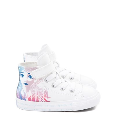 Main view of Converse x Frozen 2 Chuck Taylor All Star 1V Hi Anna & Elsa Sneaker - Baby / Toddler