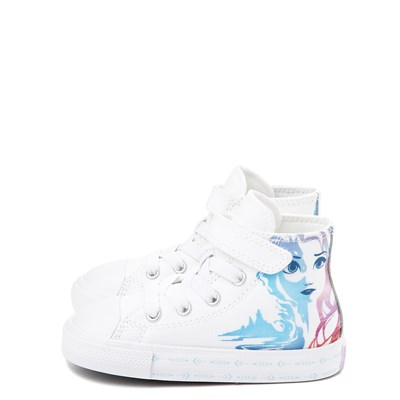 Alternate view of Converse x Frozen 2 Chuck Taylor All Star 1V Hi Anna & Elsa Sneaker - Baby / Toddler