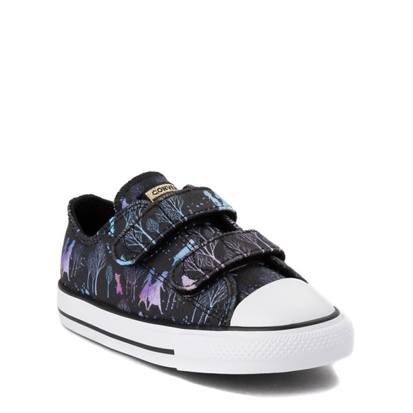 alternate view Converse x Frozen 2 Chuck Taylor All Star 2V Lo Enchanted Forest Sneaker - ToddlerALT1