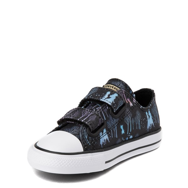 alternate view Converse x Frozen 2 Chuck Taylor All Star 2V Lo Enchanted Forest Sneaker - ToddlerALT3